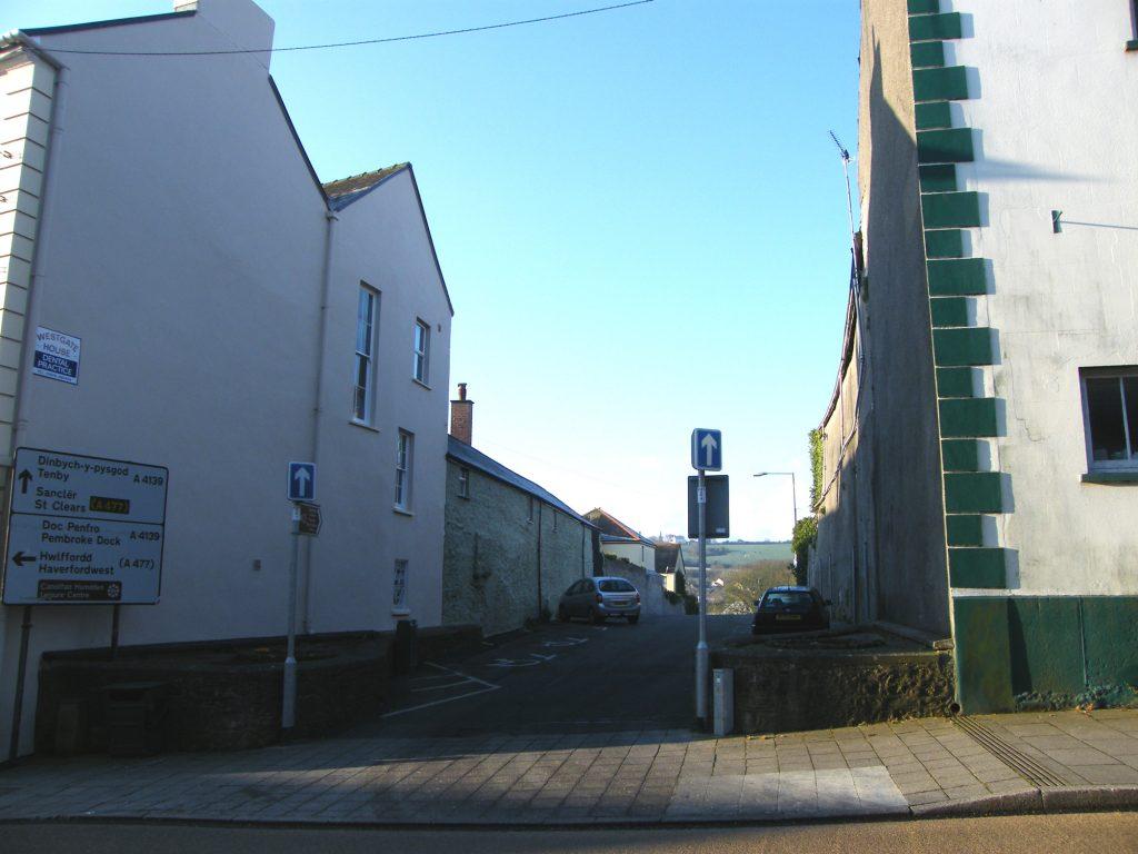 The Long Entry Pembroke Town Trail