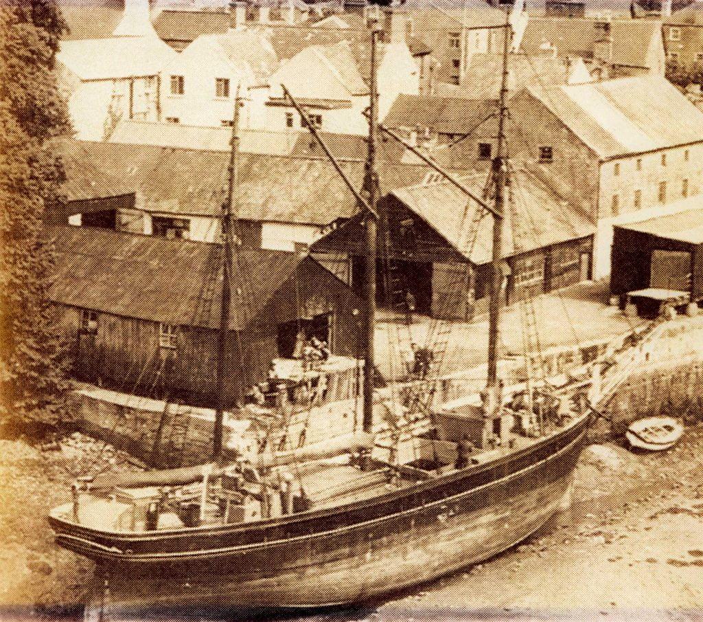 The Kathleen&May at the North Quay