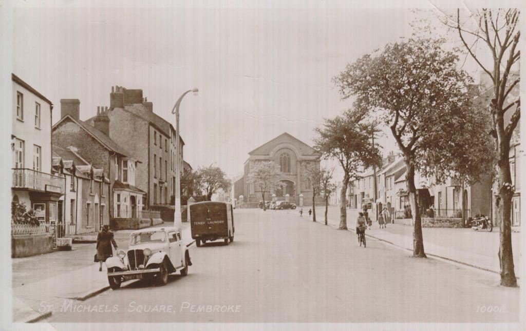 St Michael's Square c1950