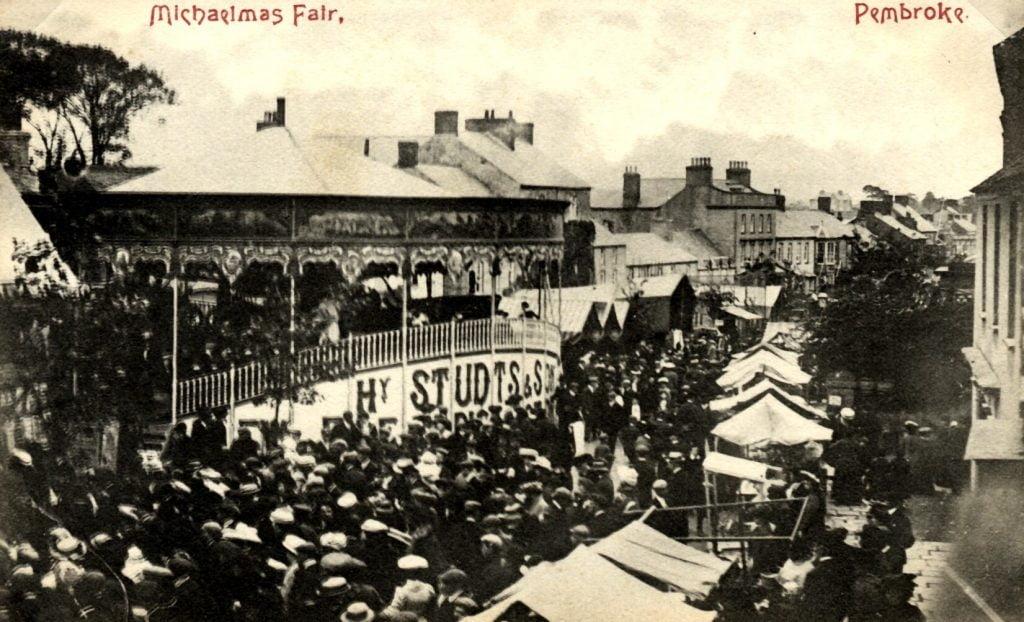 Pembroke Michaelmas Fair c1910